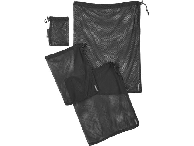 Cocoon Mesh Stuff Sack Set Black